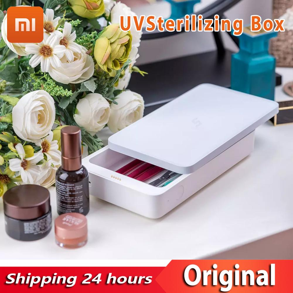 Xiaomi Mijia FIVE Multifunctional Sterilizing Box UV Sterilization Wireless Charge Mobile Phone Disinfection Cosmetics And Phone