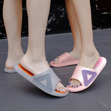 Women Shoes New Women Indoor Floor Flat Shoes Summer Non-Slip Flip Flop Bath Home Slippers Female Slipper Comfortable Lady Shoes fayuekey 2018 new spring summer fashion genuine leather home couples slippers indoor floor outdoor slippers non slip flat shoes