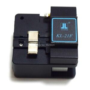 Image 4 - Orijinal Jilong KL 21F Yüksek Hassasiyetli Fiber Cleaver Fiber Optik Kesici