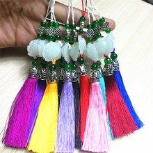 New ice silk fringe tassel jewelry accessories Sansei III lotus DIY tassel pendant