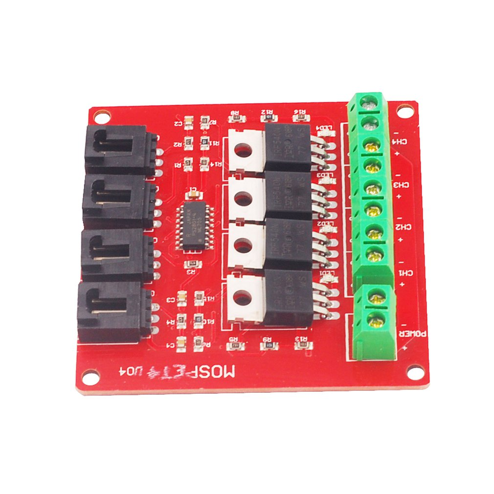 Electronic Building Block Four-way Switch MOSFET Switch Development Board IRF540 Isolated Power Module