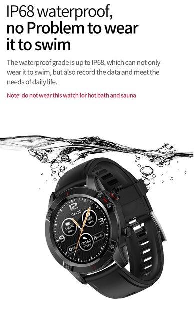 Купить умные часы ip68 водонепроницаемые спортивные монитор сна сенсорный