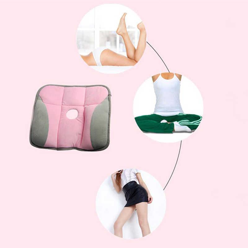 وسادة مريحة مصنوعة من الفوم والفقرات لحماية العظام وسادة على شكل كرسي العصعص وسادة على شكل مقعد السيارة لمنع حدوث البواسير