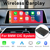 Bezprzewodowy CarPlay z systemem Android Auto wideo moduł interfejsu Box dla BMW E60 E70 E71 E84 F01 F02 F07 F10 F11 F25 F26 F30 System CIC