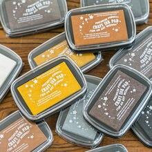 Yoofun 6 цветов большой размер inkpad ремесло на масляной основе