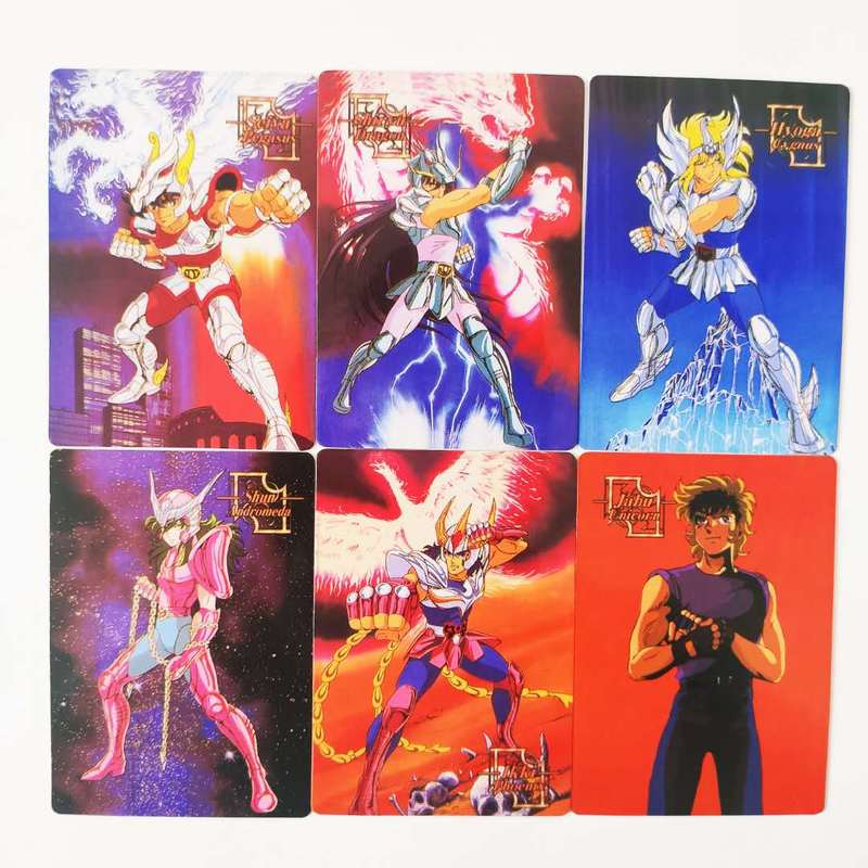 90pcs/set Saint Seiya Broken Glass Childhood Memories Toys Hobbies Hobby Collectibles Game Collection Anime Cards Limited