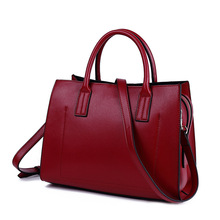 MLHJ 2019 Women Leather Handbags Casual Brown Tote bags Crossbody Bag TOP-handle bag With Tassel and fluffy ball все цены