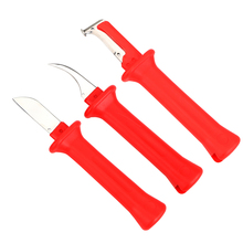 Knife 6 kinds cable stripper knife german style 440c blade pvc handle Stripping the scope of diameter of 50mm below hand tools цена 2017