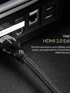 Cable Switch Splitter Projector Tv-Box Computer Unnlink 144hz Long-Hdmi Hdmi-2.0 3m 4K