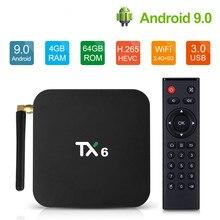 Tanix TX6 Android 9.0 TV BOX Allwinner H6 Quad core 4G 32G/6