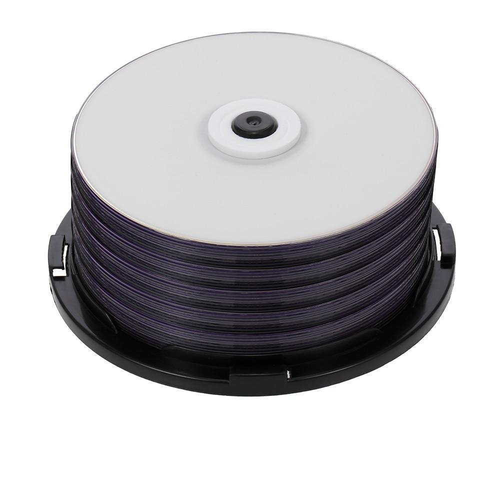Настраиваемый DVD-диск, 50 шт, чистый диск 215 мин. 8X DVD + R DL 8,5 ГБ, для передачи данных и видео, поддерживает до 8X DVD + R DL