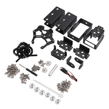 6 DOF Robot Manipulator Metal Alloy Mechanical Arm Clamp Claw Kit MG996R for Arduino Robotic Education