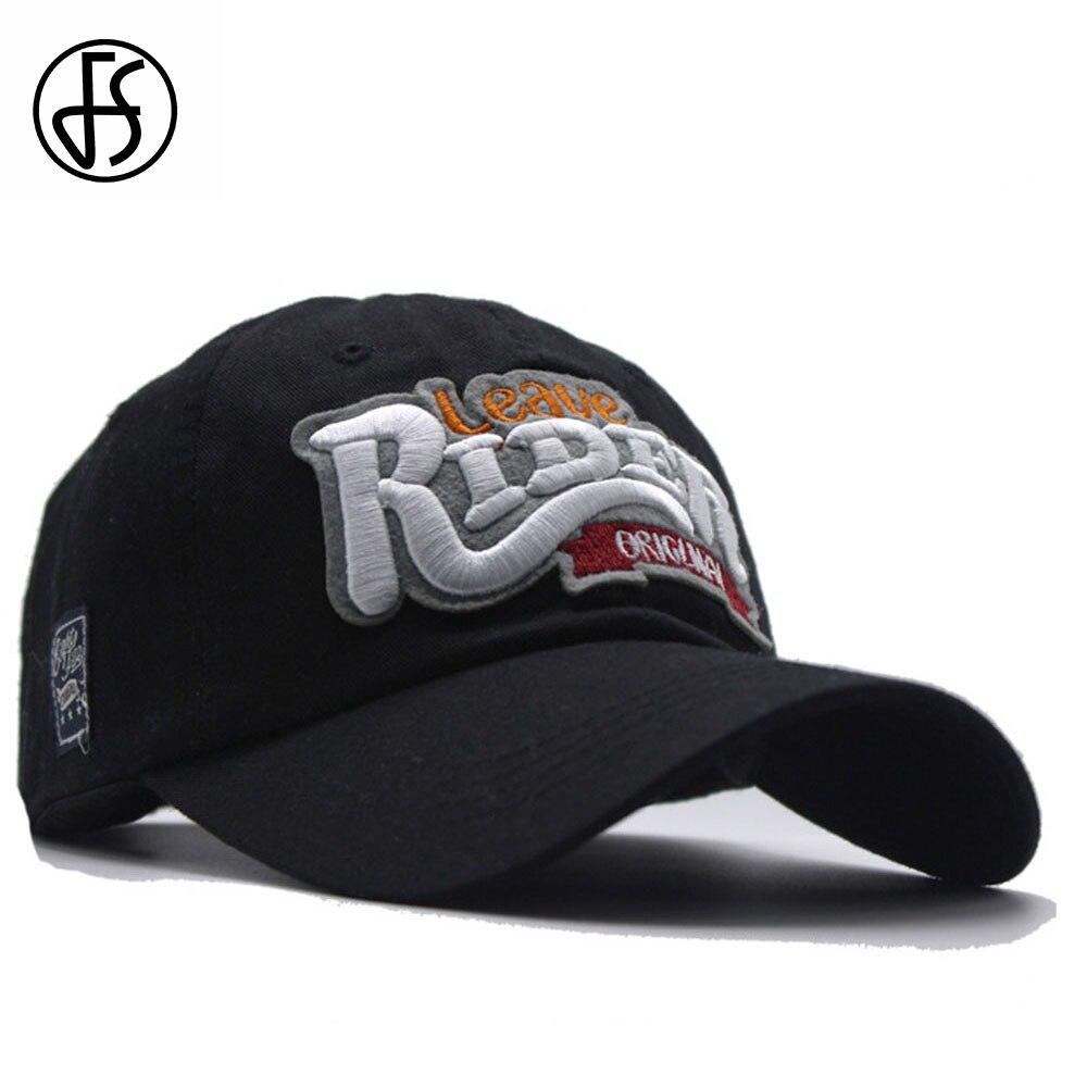 Мужская и женская кепка FS, винтажная бейсболка в стиле хип хоп с надписью и вышивкой, черный и красный цвета, 2019 Мужские бейсболки      АлиЭкспресс