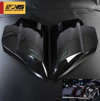 Black Left Right Side Cover Panels For Harley Touring Electra Street Glide 2009 2018