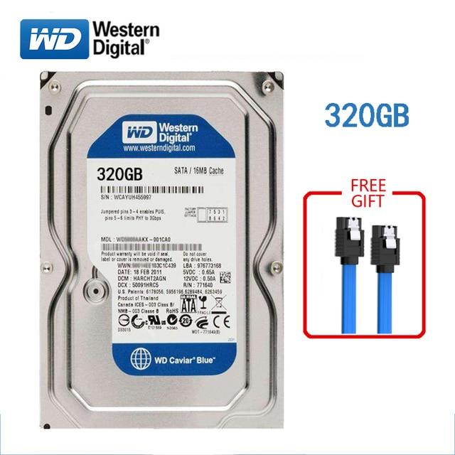 "WD 500GB desktop computer 3.5"" internal mechanical hard drive SATA 250/320/500GB 1/2/3/ 4TB 6Gb/s hard drive for Desktop 4"