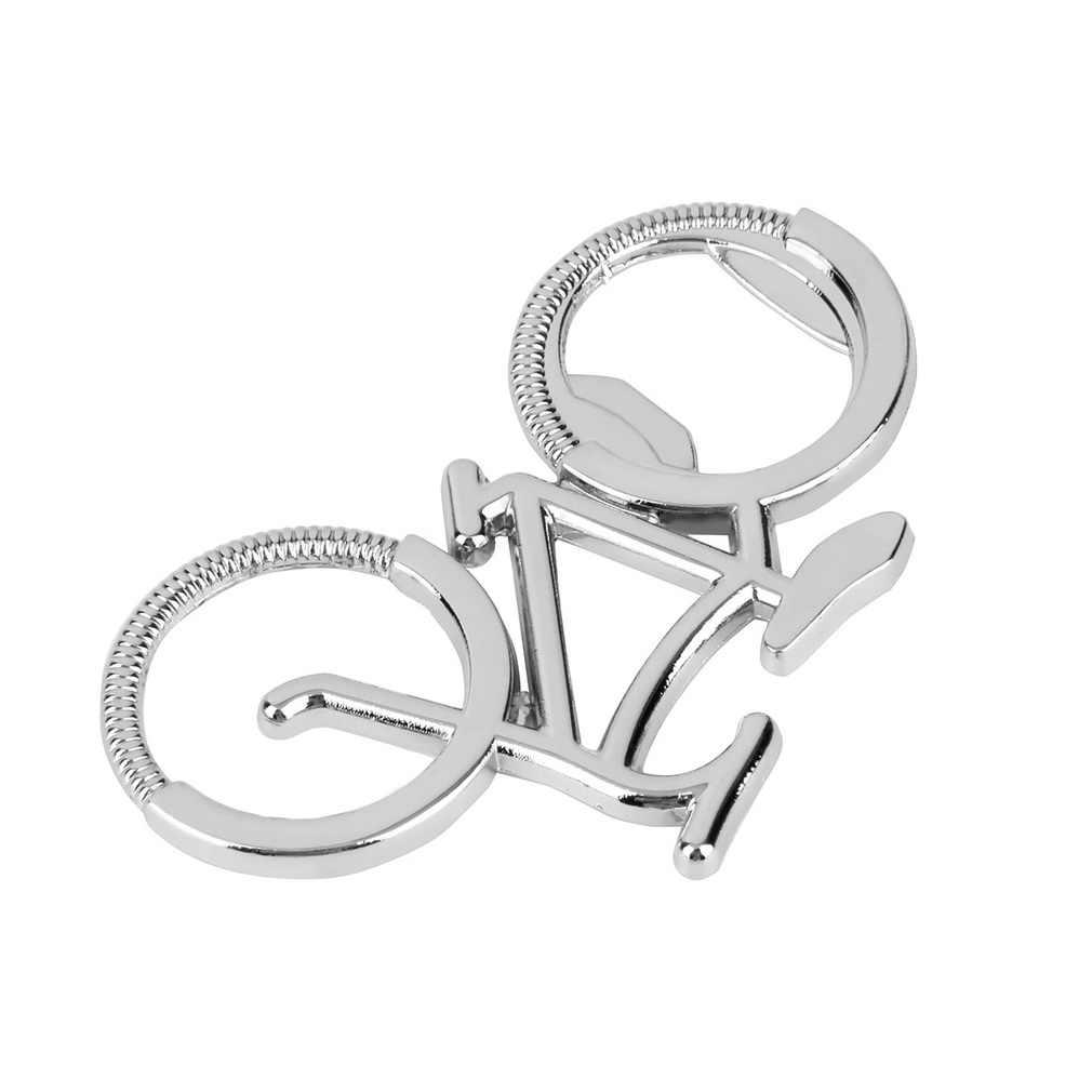 1PCS แฟชั่นน่ารักจักรยานจักรยานโลหะที่เปิดขวดเบียร์พวงกุญแจแหวนสำหรับจักรยาน Lover BIKER ของขวัญสร้างสรรค์สำหรับขี่จักรยาน