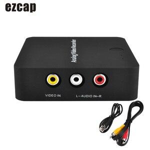 Image 1 - Ezcap272 AV ללכוד מקליט אנלוגי דיגיטלי וידאו ממיר AV HD פלט TF כרטיס לחסוך קובץ תקע ולשחק