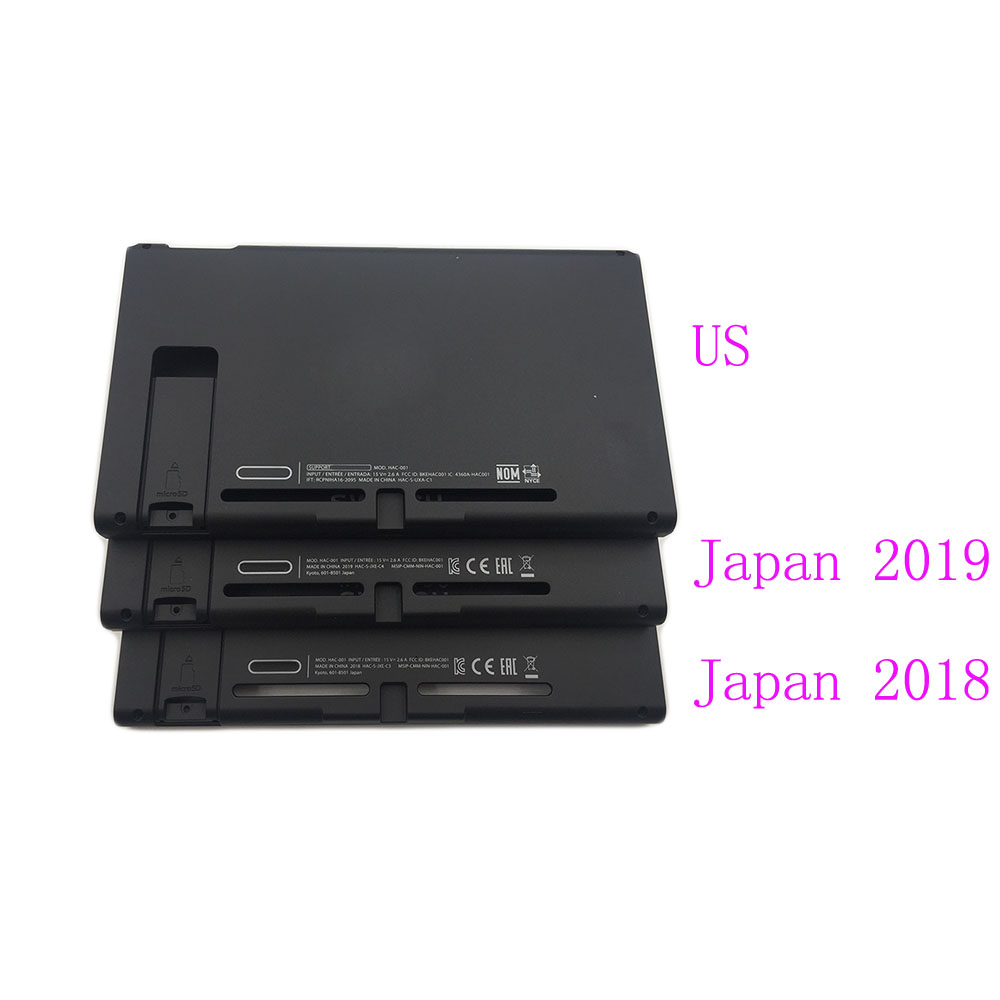 Replacement Hard Top & Bottom Housing Shell Case Front Back Faceplate Part For Nintendo Switch NS NX Console Extended 2019 &2018