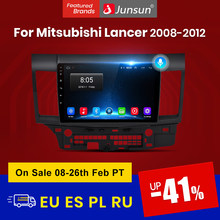 Junsun v1 pro 2g + 128g android 10 para mitsubishi lancer 2007 - 2013 rádio do carro reprodutor de vídeo multimídia navegação gps 2 din dvd