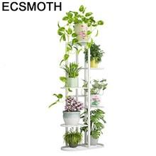 Salincagi wsparcie wlać Plante dekoracja Exterieur dekoracja na zewnątrz Mensole Per Fiori stojak na kwiaty żelaza Balkon Balcon roślin półka tanie tanio ECSMOTH Metal