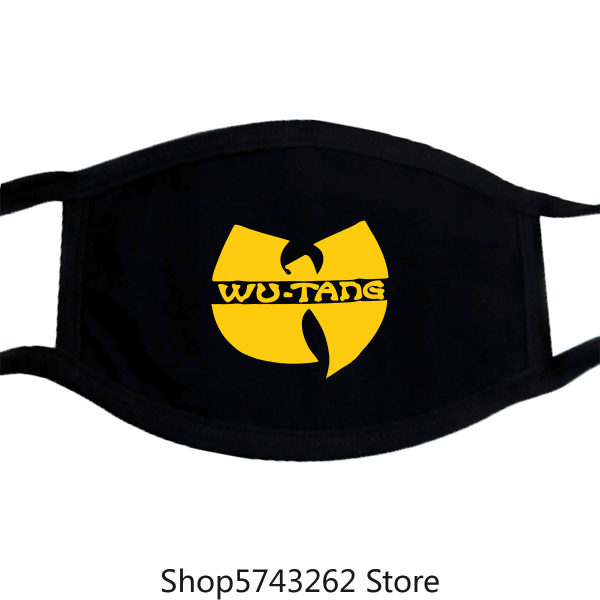 Wu Tang Clan Mask Gza Rza Odb Hip Hop Rap Tee Mens Black New Washable Reusable Mask