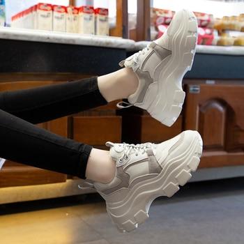 Women Chunky Sneakers Vulcanize Shoes 2