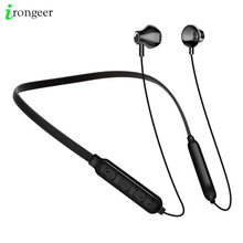 Wireless Earphone Music Earbuds Sport Neckband Headset Handsfree Bluetooth Earpiece Stereo Headphones with Mic For iPhone 11 Pro edal stereo foldable wireless bluetooth headphones earphone earbuds handsfree headset with mic microphone for iphone galaxy