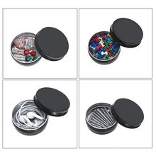 1 oz 24 pcs Aluminum Empty Tins Cans Cosmetic Sample Containers with Screw Lid 3g cream galley proof bottle box on trial dress transparent cjb01 empty cans cosmetic sample containers cjb01