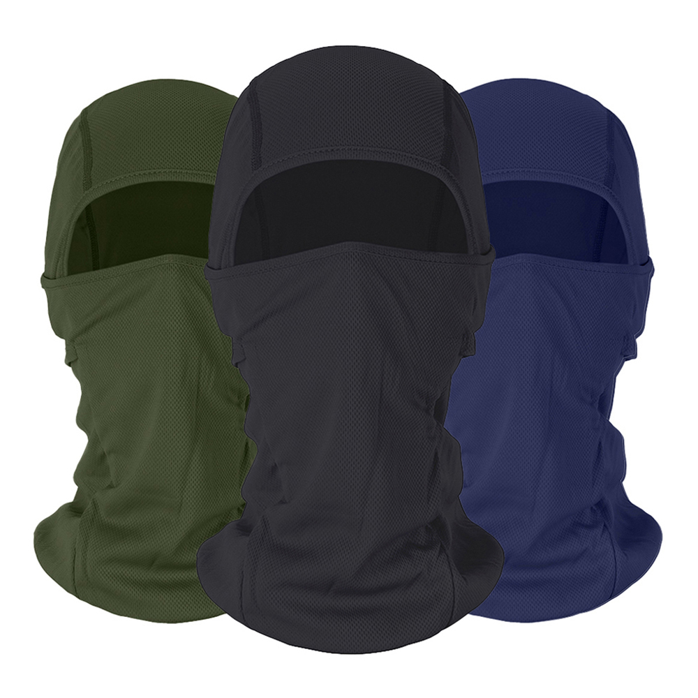 HEROBIKER Motorcycle Balaclava Face Mask Moto Warm Windproof Breathable Airsoft Paintball Cycling Ski Face Shield Men Sun Helmet