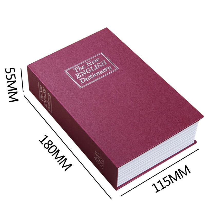 Safe Box Piggy Bank Secret Book For Coin Money Stash Security Hidden Safes Cash Money Storage Jewellery Digital Password Locker