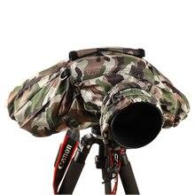Koruyucu kamera yağmur kapakları yağmur geçirmez su geçirmez ceket çanta için profesyonel toz geçirmez için Canon/Nikon/Pendax/Sony DSLR SLR