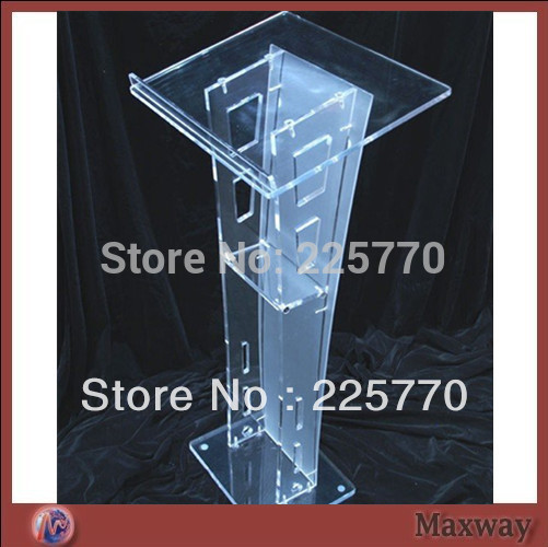 Frosted Acrylic Lectern Church Lectern Perspex Church Frosted Acrylic Church Podium Pulpit Plexiglass