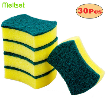 Double-sided Cleaning Sponges Magic Eraser Sponge For Dish Washing Nano Density Decontamination Sponge For Kitchen Bathroom mac duo sided sponge