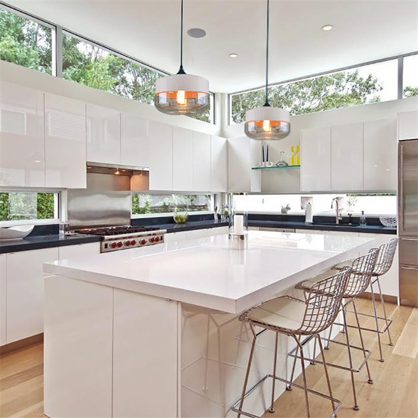 Ha034416496544570a310658709056a34E - Modern Home Decor Pendant Lights Nordic Clear Glass Lampshade Pendant Light Indoor Lighting Living Room Hanglamp Light Fixture