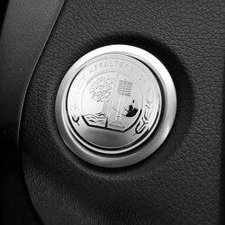 1-50 sztuk jabłko drzewa godło samochodów silnika startu jednego przycisku pokrywa dla Mercedes Benz AMG W169 W176 w209 W218 W204 W211 W164 W251 W171