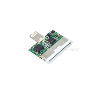 Image 3 - Lightning to 30pin Adapter Apple 4th to 5th Adapter Akm4366 Pic32M Diy