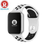 Reloj inteligente Bluetooth 1:1 reloj inteligente 42mm funda para Apple Watch iphone iOS Android Frecuencia Cardíaca ECG podómetro reloj inteligente los hombres