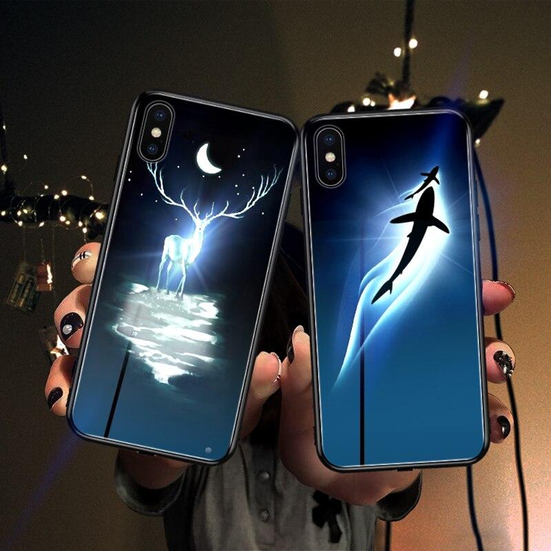 Mofi fall für iphone huawei LED glanz fall dropshipping