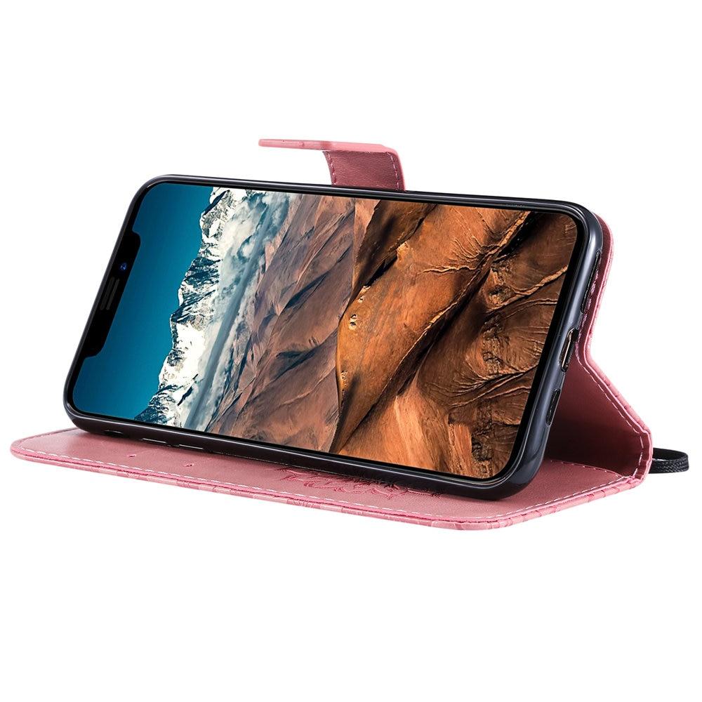Luxury Flower Wallet Flip Case for iPhone 11/11 Pro/11 Pro Max 2