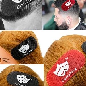 Hair Holder Men Glue Gripper Barber Grippers Styling Cutting add Hair Clips