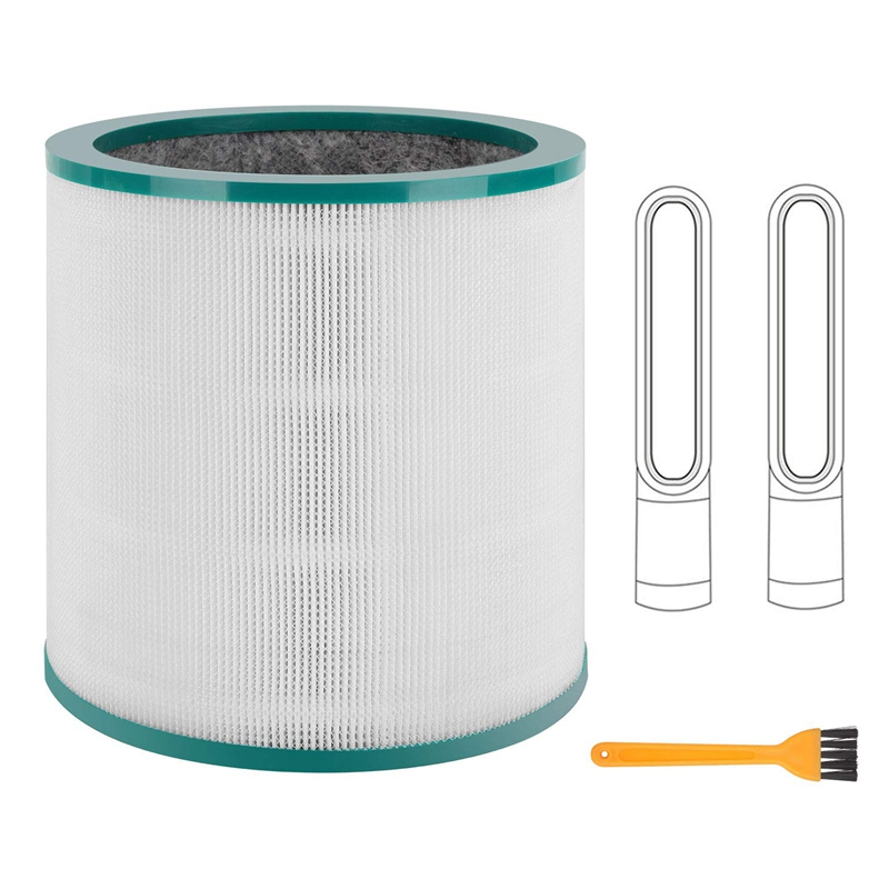 Replacement Air Purifier Filter for Dyson Tp00 Tp02 Tp03 Tower Purifier Pure Cool Link|Vacuum Cleaner Parts| |  - title=