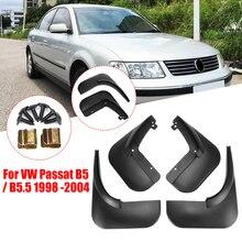 4Pcs Car Front Rear Mud Flap Mudguards Splash Guards for VW Passat B5 / B5.5 1998 2004