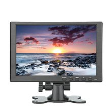10 inch Portable Monitor HDMI-compatible 1920x1080 HD IPS Display Computer LED Monitor with Leather Case for PS4 Pro/Xbox/Phone