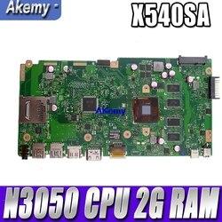 Nowy X540SA płyty głównej REV 2.0 dla ASUS X540 X540S X540SA X540SAA laptopa test płyty głównej ok 2GB RAM N3050/N3060 procesora w Płyty główne od Komputer i biuro na
