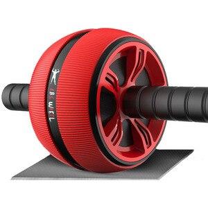Loogdeel Abs Abdominale Roller Oefening Wiel Fitness Apparatuur Mute Roller Voor Armen Terug Buik Core Trainer Body Vorm Trainin(China)