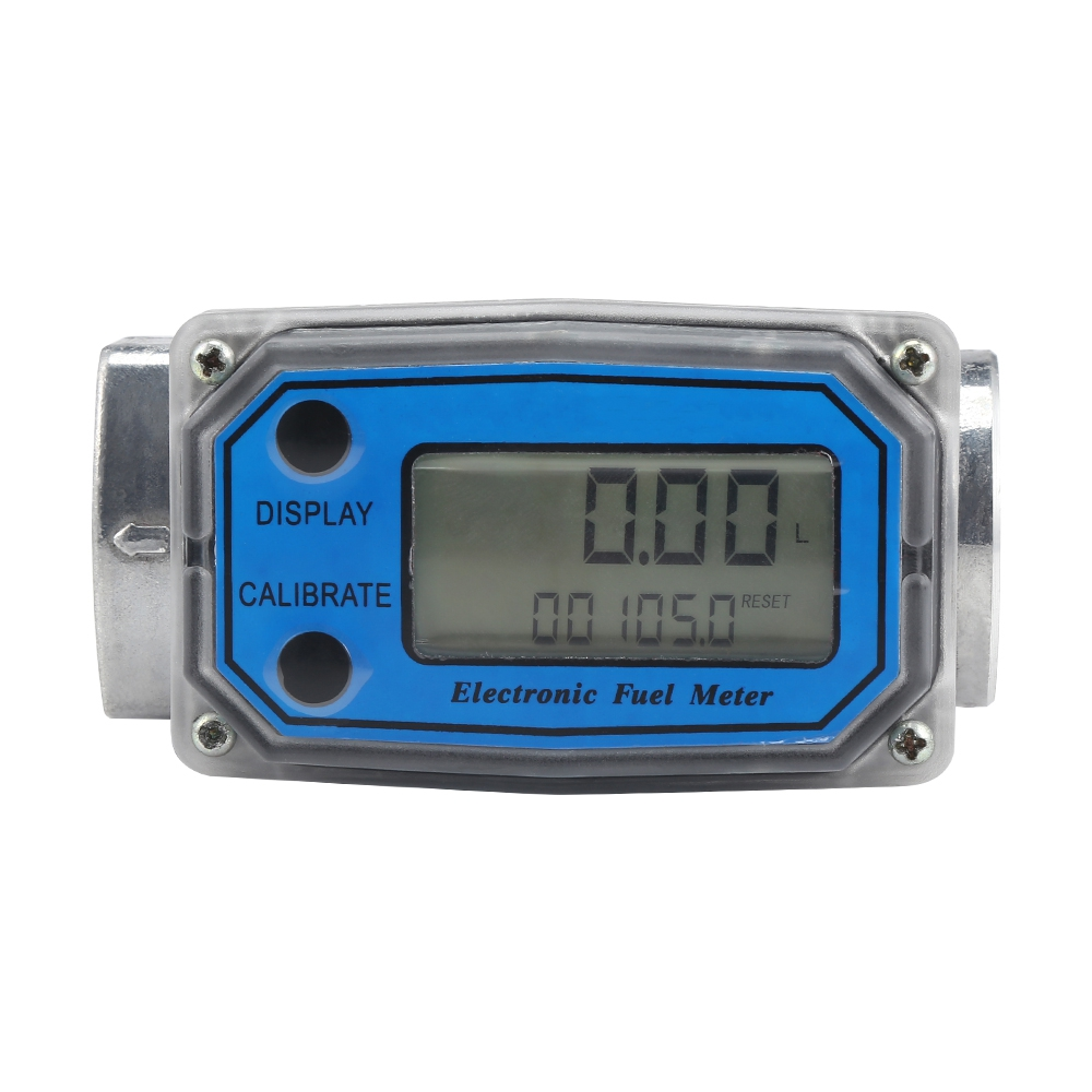 ALLSOME LLW - 25 Digital Turbine Flow Meter for Measuring Gasoline Diesel Kerosene