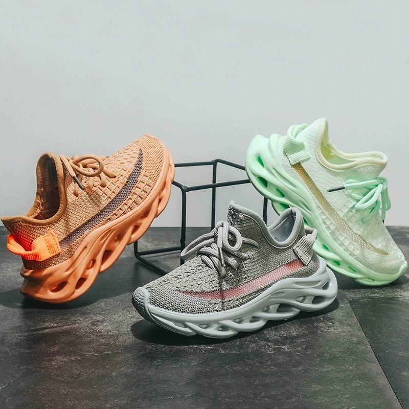 Летняя детская обувь; Детские кроссовки для бега; Удобные спортивные кроссовки для мальчиков и девочек; Дышащая мягкая повседневная детская обувь|Кроссовки| | АлиЭкспресс