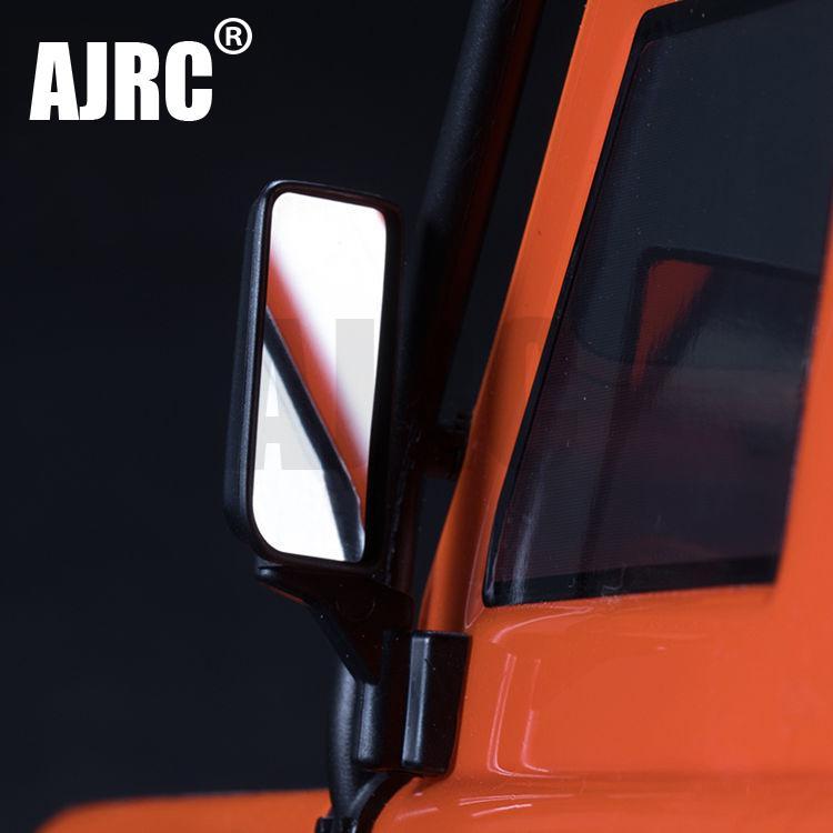 2Pcs TRX4 Metallo Specchio Retrovisore per il 1/10 Traxxas TRX-4 Defender TRX 4 T4 RC Crawler Auto Parti di Aggiornamento