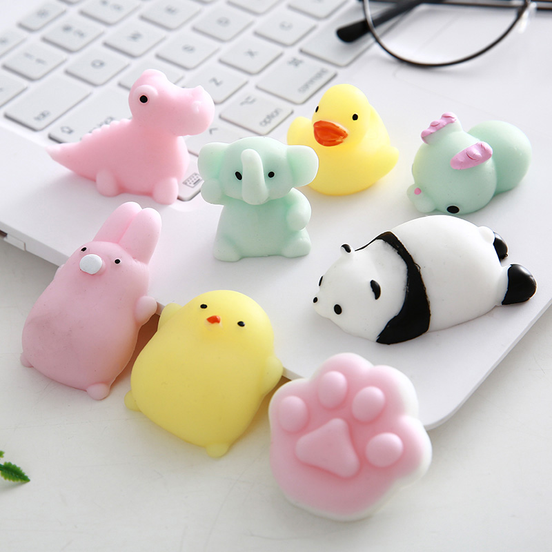 Mini  Toy Antistress Ball  Cute Animal  Rising Toys Abreact Soft Sticky  Stress Relief Toys Funny Gift