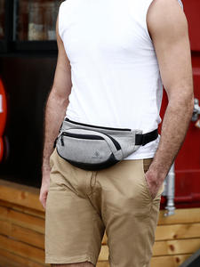 Hk Waist-Bags Purse Wallet Phone-Case Fanny-Pack Money-Belt Travel Black Waterproof Security